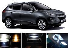 Xenon White Vanity / Sun visor LED light Bulbs for Hyundai Tucson (2 Pcs)