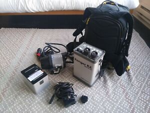 Used Elinchrom Ranger RX Speed AS 1100ws battery pack and head.