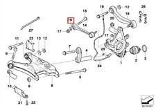 Genuine BMW Rear Axle Support Wheel Washer Suspension E38 E39 E52 33306760592