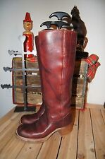 Vintage Frye Campus Boot cherry leather boots size 5.5 B FRYE BOOTS 5.5 B CAMPUS