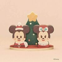 Bandai Disney KIDEA Mickey and Minnie Wooden Block Christmas Special from Japan