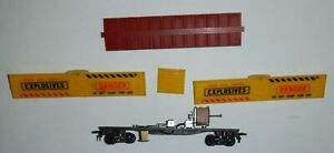 American Flyer - Gilbert HO scale   - Exploding Box Car - As Is