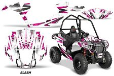 "Polaris Sportsman ""ACE"" ATV Graphic Kit Wrap Quad Accessories Decals SLASH PINK"