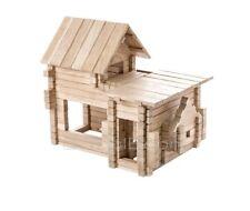 IGROTECO Cottage 4 in 1 Building Set DIY Wooden Construction Set 206 pieces