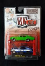 M2 Machines Auto-Lift 1966 Dodge Charger R09 Release 9 New
