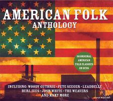 AMERICAN FOLK ANTHOLOGY (NEW SEALED 2 CD)