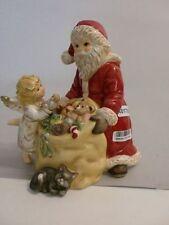 +# A017058 Goebel Archiv Muster Nikolaus und Engel mit Sack und Geschenke 66-992