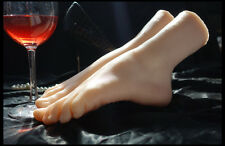 Simulation of girls ballerina dancer gymnast foot silicone feet model mannequin