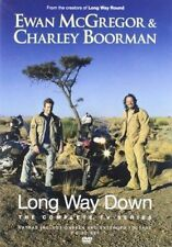 LONG WAY DOWN COMPLETE SERIES 2 DISC EWAN MCGREGOR BOORMAN REGION FREE DVD EXCEL