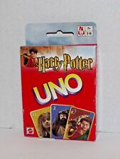 Harry Potter Uno Card Game 2003 Mattel #42797 New Sealed (d)