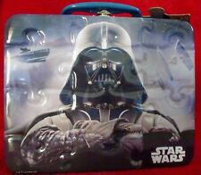 Star Wars 48 Piece Puzzle Darth Vader Metal Tin Lunch Box New