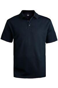 Men's Hi-Performance Mesh Short Sleeve Polo Shirt