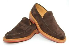 Mens Trickers James Penny Loafers Shoes Suede Size UK 6.5  US 7  Eu 40  New £395