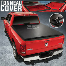 LOCK&ROLL SOFT VINYL TONNO TONNEAU COVER FOR 09-16 DODGE RAM PICKUP 8FT LONG BED