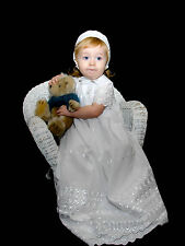 "Lavishly Beautiful Christening Gown - ""Robyn"""