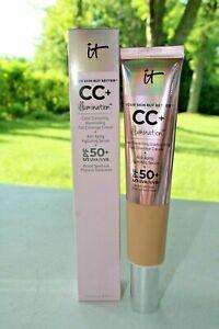It Cosmetics Your Skin But Better CC+ Illumination Cream with SPF 50+ MEDIUM TAN