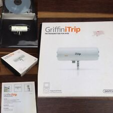 GRIFFIN iTrip for iPod & iPhone FM transmitter Doc Connector White Boxed