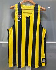 17-18 NIKE FENERBAHCE TURKEY PLAYER ISSUE BASKETBALL JERSEY FIBA EUROLEAGUE 52