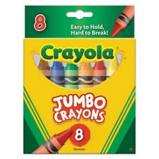 Crayola Jumbo Crayons-8/pkg