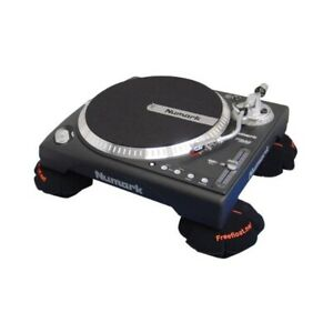 Freefloat Decoupling Pillow For Turntable Black 1 Piece 99044-1