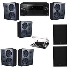 M&K Sound MP300 Monitor Speaker 5.2 Thorens TD-240-2 X12 Pioneer Elite SC-89