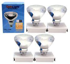 4x Optolight Fluorescent Light Bulb Using 23W =100W 120V 1250 Lumens Warm 2700K