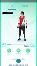 Pokemon Go account Level 30-31 - 650K Stardust - Email Changeable