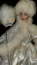 """The Snow Queen"" ~ Franklin Mint Heirloom Porcelain Doll, By Joyce Reavey!"