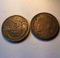2 Francs Morlon Bronze-alu 1933
