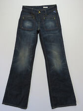REPLAY WV528 Hustle FLARE BLUE DENIM Jeans LADIES SIZE 27X32 NEW