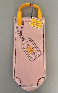 New VEUVE CLICQUOT Shopping Bag ROSE  Insulated Travel Bottle Sleeve FREE SHIP