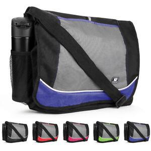"""SumacLife Canvas Laptop Shoulder Messenger Bag For 15.6"""" Dell Inspiron 15/XPS 15"""