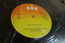 "U2 out of control stories for boys boy/girl CBS 12-7951 ""mfd. In Irelnad"" IRISH"
