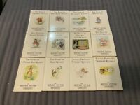 LOT OF 12 MINI HARDCOVER BEATRIX POTTER BOOKS - F. WARNE & CO.