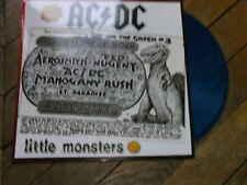AC DC LIttle Monsters RARE LP Live Oakland 79 Vynil COULEUR BLUE