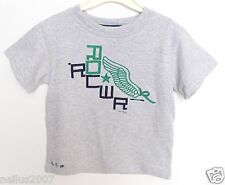 Boys Girls Kids Genuine Logo Rocawear Grey Short Sleeve T-Shirt Top Age 3