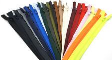 Kunststoff Plastik Krampe Reißverschluss für Jacken - teilbar /  60 cm - 90 cm