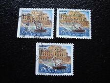 SUEDE - timbre yvert et tellier n° 2034 x3 obl (A29) stamp sweden (A)