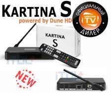 +NEU+ Kartina S - WLAN 4K Receiver Kartina.TV+DVB-S, 2 x schneller als Kartina X