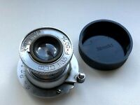 Pre-war FED NKVD 1:3,5 F=50cm Collapsible Lens USSR Elmar copy M39 mount