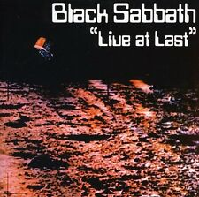 Black Sabbath - Live at Last [New CD] UK - Import