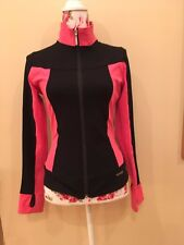 Mondor Skating Jacket, Black and Pink, Ladies Medium