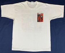 Vintage 1989 White Healthknit Untouchables Band T Shirt XL Cotton Single Stitch