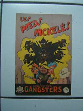 PELLOS / LES PIEDS NICKELES 32  / CONTRE LES GANGSTERS