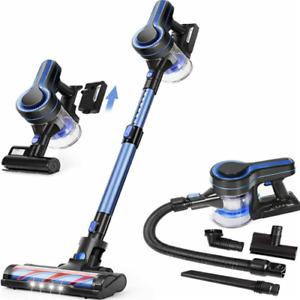 Upgraded 24kpa Stick Vacuum 5 in 1 Pet Hair Car Cordless Vacuum Cleaner