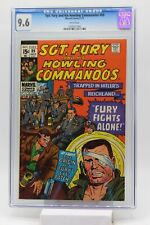 Sgt. Fury and His Howling Commandos #89 CGC 9.6 White Pages