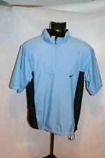 "Nike Golf ""Storm-Fit"" Pale Blue Short Sleeve - Golf Overtop SIze Medium [319]"