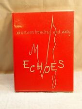 1960 ANDERSON COLLEGE THEOLOGICAL SEMINARY YEARBOOK, THE ECHOES, ANDERSON, IN
