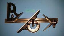 """Starrett Combination Square 12"""" Square Center Head 490 Protractor blade 4R NICE"""