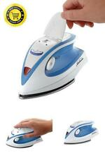 New Iron Travel Sunbeam Steam Dual Mini Voltage Electric Compact Portable